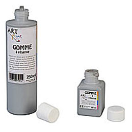 Gomme à réserve 250ml Artplus (photo)