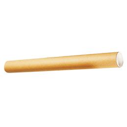 Tube d'expédition en carton rond - L380mm - diamètre 40 mm (photo)