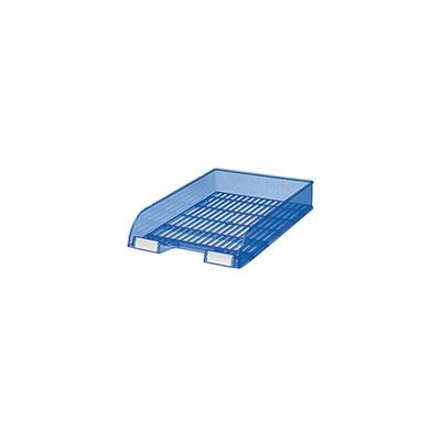 Bac à courrier 12-65 standard - bleu translucide