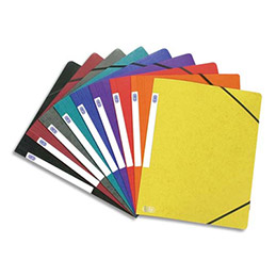 Chemise simple à élastique Topfile - carte lustrée 5/10e - coloris assortis (photo)