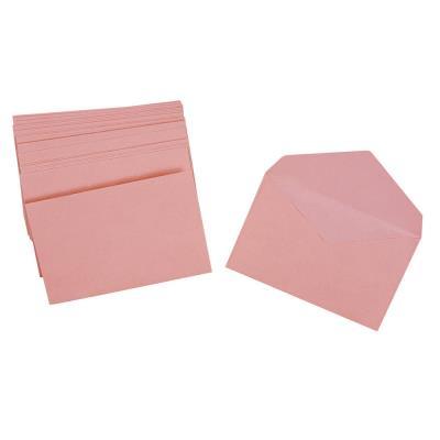 Enveloppe élections La Couronne - 90 x 140 mm - 70 g/m² fermeture autocollante - rose - paquet 1000 unités