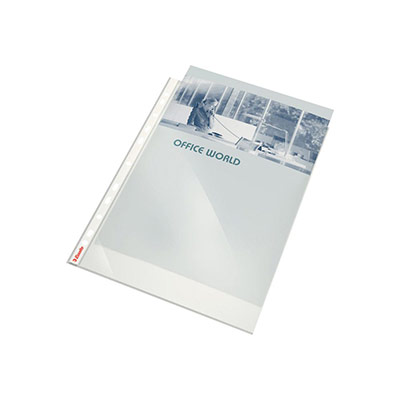 Pochettes perforées polypropylène lisse 8/100e - perforation 11 trous - format A4 - Sachet de 100