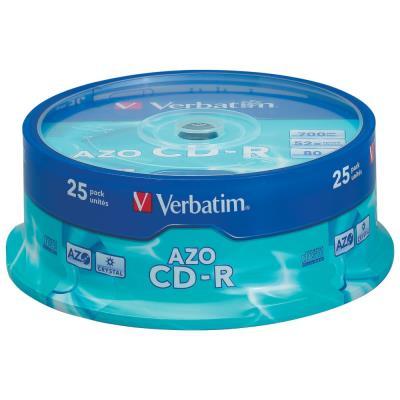 CD-R Verbatim - 700 mo - 80 min - tour de 25