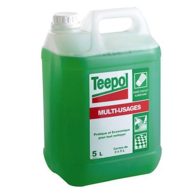 Bidon de détergent liquide multi-usage vert 5 l (photo)