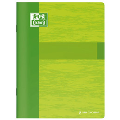Cahier Oxford Essential - 17 x 22 cm - grands carreaux - 48 pages