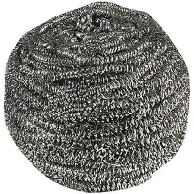 Boules inox 60 g - gris acier - lot de 10 (photo)