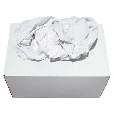 Boîte distributrice Chiffons blancs optique - boîte de 10 kg (photo)