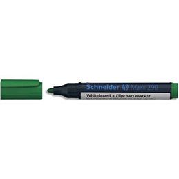 Marqueur effaçable à sec Schneider Maxx 290 - pointe ogive - épaisseur de trait 2-3mm - encre verte