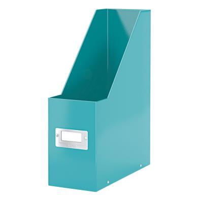 Porte-revues Leitz WOW en carton recouvert polypropylène - dos 10 cm - coloris vert menthe