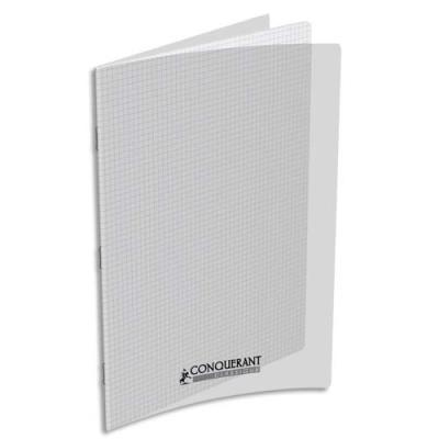 Cahier piqûre Conquérant classique - couverture polypropylène - 90 g - 24 x 32 - 48 pages - Seyès -