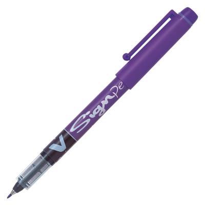 Pilot V-Sign Pen - 0,6 mm - violet