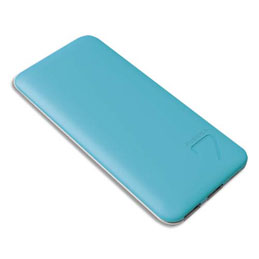 PowerBank MOBILITY ultra slim S4 Puridea 6600 mAH bleu