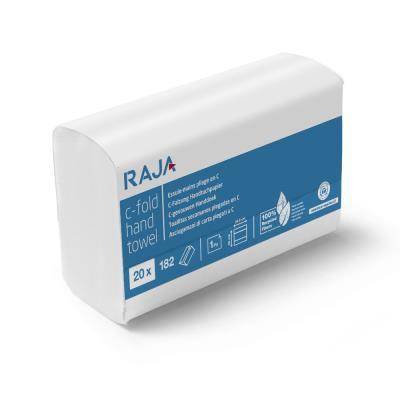 Essuie-mains Sustainable Earth - pliage en C - simple épaisseur - gaufrés - recyclés - 182 feuilles - 330 mm - blanc naturel - carton 20 x 182 unités