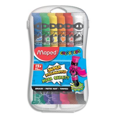 Gouache Maped Color'Peps - 12 tubes