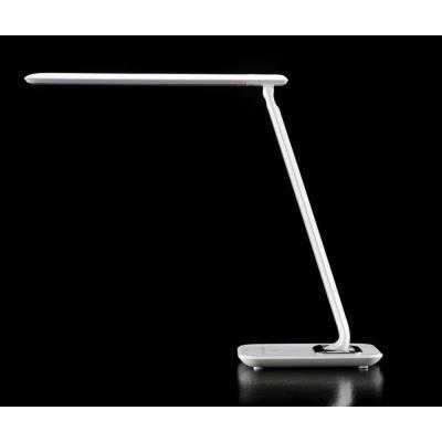 Lampe de bureau LED Bob - puissance 7W - durée 30 000h - blanc laqué