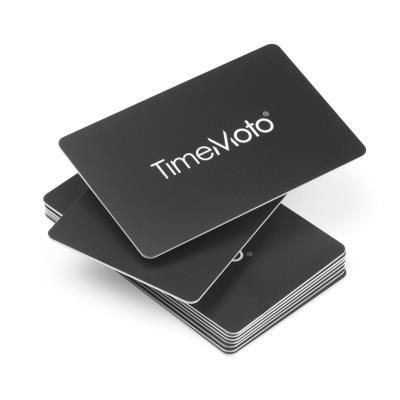 Badges cartes Safescan RF-100 pour pointeuses TimeMoto - boîte de 25 (photo)
