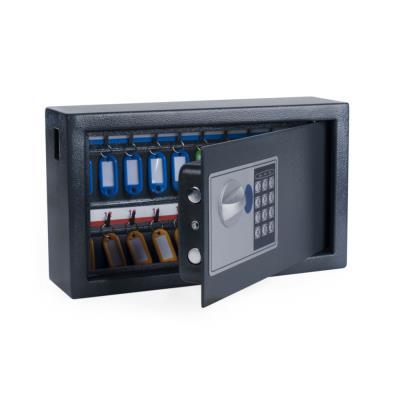 Armoire à clés haute sécurité en acier serrure à combinaison électronique Pavo - 20 clés - gris anthracite