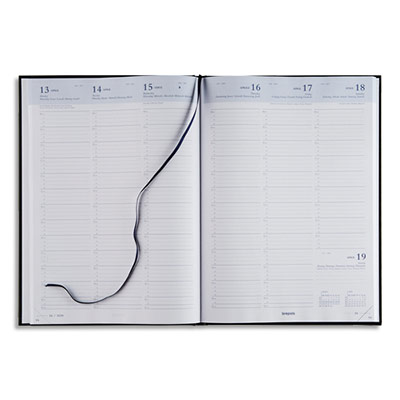 agenda 2018 semainier brepols omega 30 21 x 29 cm noir achat pas cher. Black Bedroom Furniture Sets. Home Design Ideas