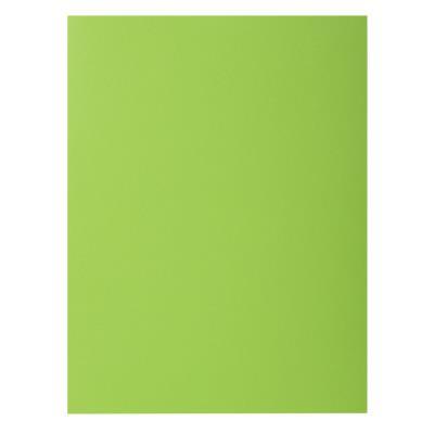 Chemise Exacompta Rock's - vert clair - format 24 x 32 cm - 210 g - paquet de 100