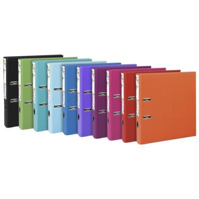 Classeur à levier Exacompta Premtouch - polypro - dos de 5 cm - coloris assortis tendance