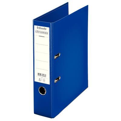 Classeur à levier Esselte Chromos Plus - polypropylène - dos 8 cm - A4 - bleu
