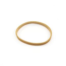 Elastiques - boîte distributrice de 100g de caoutchouc blond - format: 70x5mm