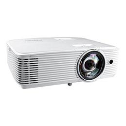 Optoma EH412ST - Projecteur DLP - 3D - 4000 ANSI lumens - Full HD (1920 x 1080) - 16:9 - 1080p - objectif fixe à focale courte (photo)