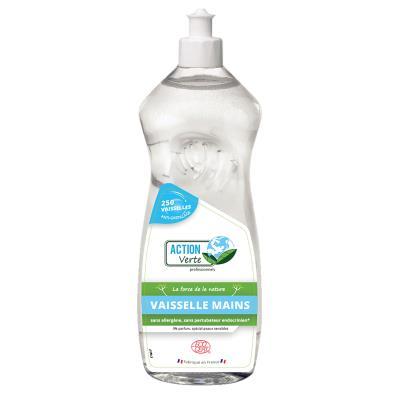 Liquide vaisselle main Action Verte - flacon de 1L