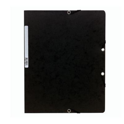 Chemise Exacompta Nature Future sans rabat à élastique 250 feuilles A4 24 x 32 cm - carton noir