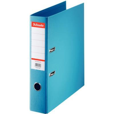Classeur à levier Esselte - dos de 7,5 cm - plastifié intérieur et extérieur - bleu clair