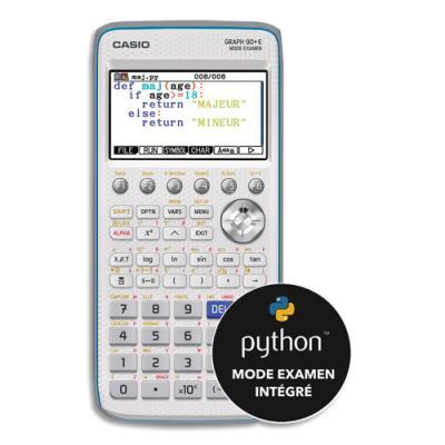 Calculatrice graphique Casio GRAPH90+E Mode Examen (remplace la Graph75+E)