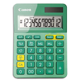 Calculatrice de bureau Canon - 12 chiffres (photo)