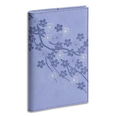 Semainier de poche Exacompta Lady Flora - 1 sem sur 2 pages - spiralé - 9 x 16 cm - coloris assortis