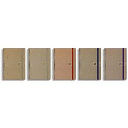 Agenda Oxford Empreinte - 1 jour par page - spiralé - grille Like Work - 15 x 21 cm - coloris assortis (photo)