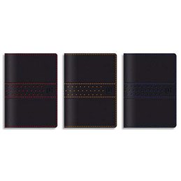 Agenda Oxford Racing - 1 semaine sur 2 pages - grille Like Work - 10 x 15 cm - coloris assortis (photo)