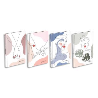 Agenda Lecas ForMe - 1 semaine sur 1 page - espace notes - 10 x 15 cm - coloris assortis (photo)