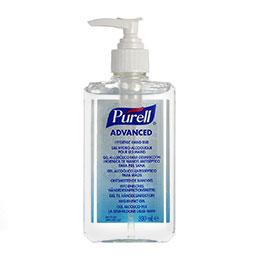 Gel désinfectant hydro-alcoolique pour les mains Purell - flacon de 300 ml (photo)