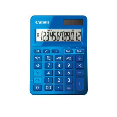 Calculatrice de bureau Canon LS-123K 12 chiffres - bleu