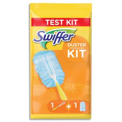 Kit en sachet cravatte plumeaux Swiffer + une recharge dépoussiérantes (photo)