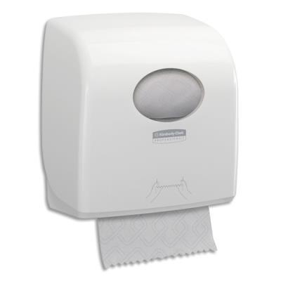 Distributeur Slimroll Aquarius en plastique - pour essuie-mains en rouleaux - L32,4 x H29,7 x L19,2 cm - blanc (photo)
