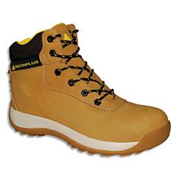 Chaussures hautes Delta Plus Saga -  en cuir nubuck - pointure 45 - beige (photo)