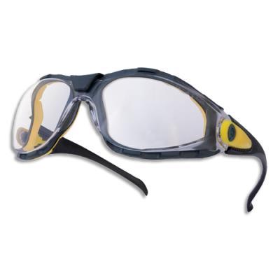 Lunette sécurité Delta Plus Pacaya - monobloc en polycarbonate - marquage oculaire 1-FTultraviolet - incolore