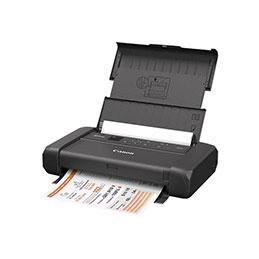 Canon PIXMA TR150 - Imprimante - couleur - jet d'encre - A4/Legal - jusqu'à 9 ipm (mono) / jusqu'à 5.5 ipm (couleur) - capacité : 50 feuilles - USB 2.0, Wi-Fi(n) (photo)