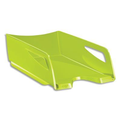 Corbeille à courrier CEP Maxi Gloss - 24 x 32 cm - L38,6 x H11,5 x P27 cm - anis (photo)