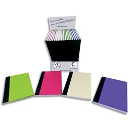 Carnet Elve Bloc Book - lignées détachables - papier 80 g - 8,5 x 14 cm - 62 pages - coloris assortis (photo)