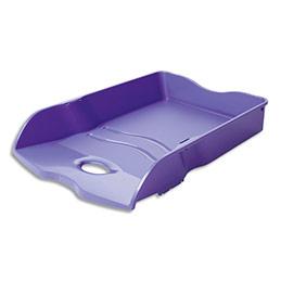 Corbeille à courrier Han Loop - en polypropylène - L25,9 x H6,3 x P35,1 cm - violet