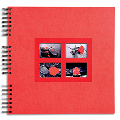 Album photos pochettes Exacompta Fantaisie - capacité 64 photos - 11x15 cm - 3 coloris assortis (photo)