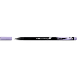 Stylo feutre Bic Intensity - baguée métal - pointe ultra fine 0,4mm - lilas