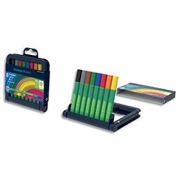 Feutres Schneiders Fineliner Link-It - pointe fibre 1mm - coloris assortis - étui de 8