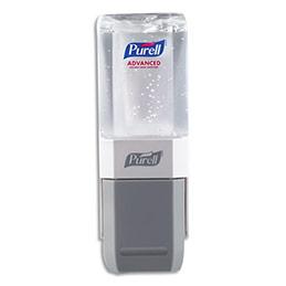 Distributeur de gel hydro-alcoolique Purell - livré avec une recharge 450 ml (photo)